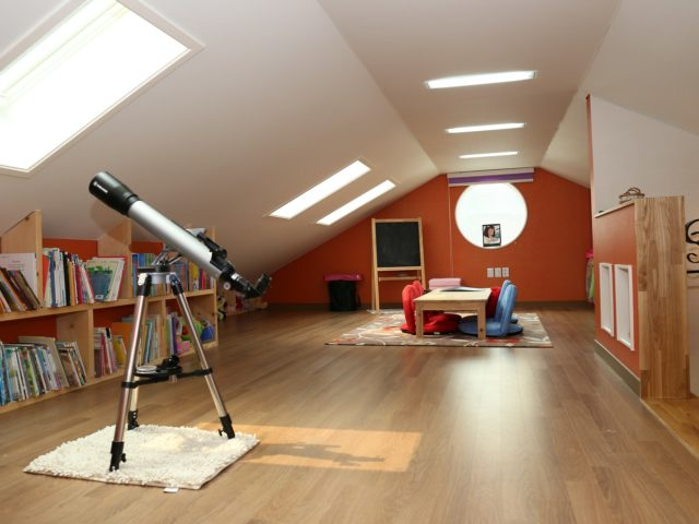Zurc Construction Attic Kids Space